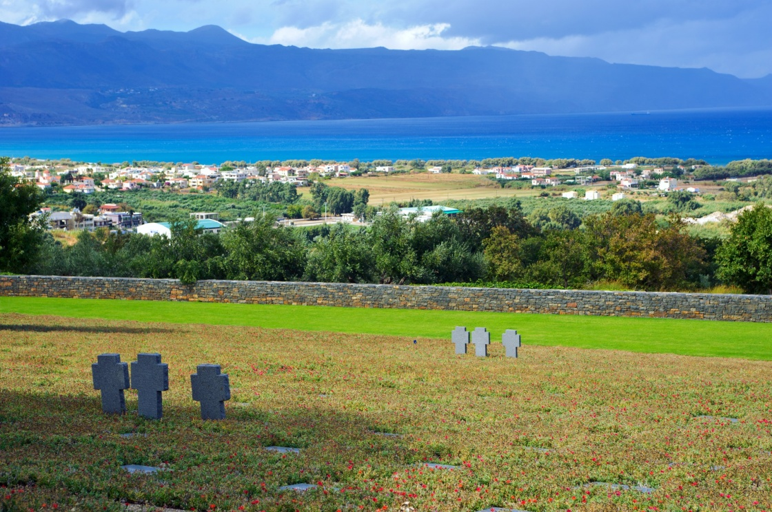 'German war cemetery in Maleme/Crete/Greece' - Chania