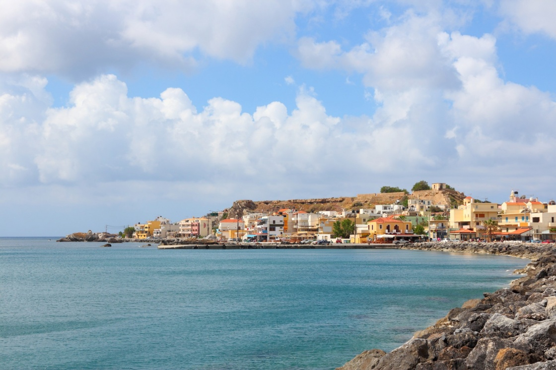 'Chania, town on Crete island in Greece. Old town of Paleochora (or Palaiochora).' - Chania